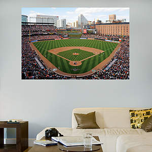 Inside Oriole Park at Camden Yards Mural Fathead Wall Decal